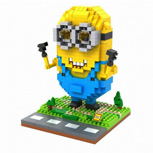 LoZ Diamond Blocks Modern Minion LoZ Construction- BibiBuzz