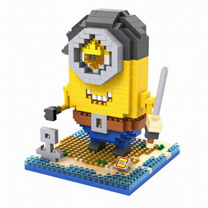 LoZ Diamond Blocks Pirate Minion LoZ Construction- BibiBuzz