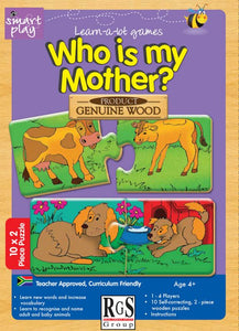 Who is my Mother? RGS Smartplay Educational Games and Puzzles- BibiBuzz