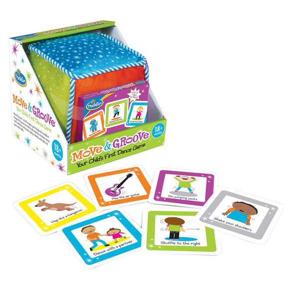 Move & Groove Thinkfun Educational Games and Puzzles- BibiBuzz