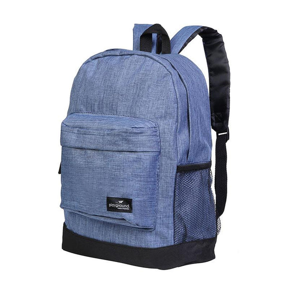 Playground Studytime Backpack - Melange Playground Bag- BibiBuzz