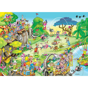 Puzzle - Golf Safari 1500pc