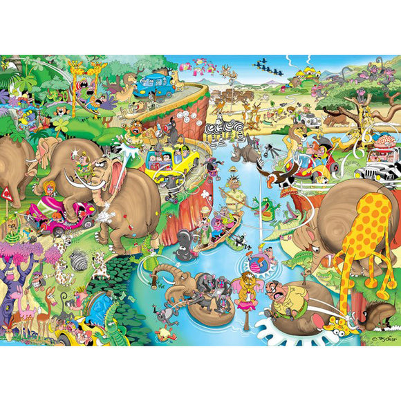 Puzzle - African Safari 1500pc