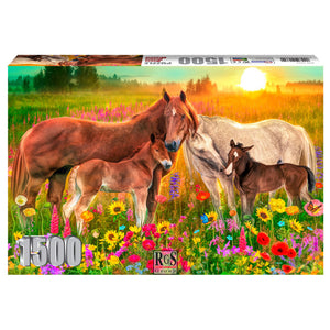 Puzzle - Horse Heaven Meadow 1500pc