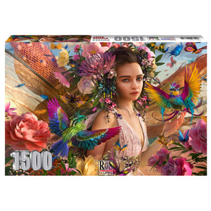 Puzzle - Flower Fairy 1500pc