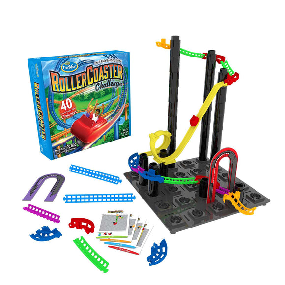 Roller Coaster Challenge Thinkfun STEM- BibiBuzz
