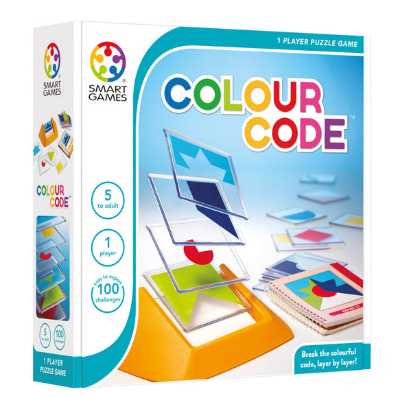Smart Games - Colour Code Smart Games Educational Games and Puzzles- BibiBuzz