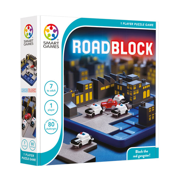 Smart Games - Roadblock Smart Games Educational Games and Puzzles- BibiBuzz