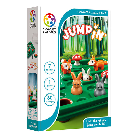 Smart Games - Jump In Smart Games Educational Games and Puzzles- BibiBuzz