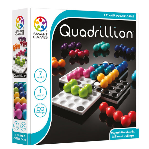 Smart Games - Quadrillion Smart Games Educational Games and Puzzles- BibiBuzz