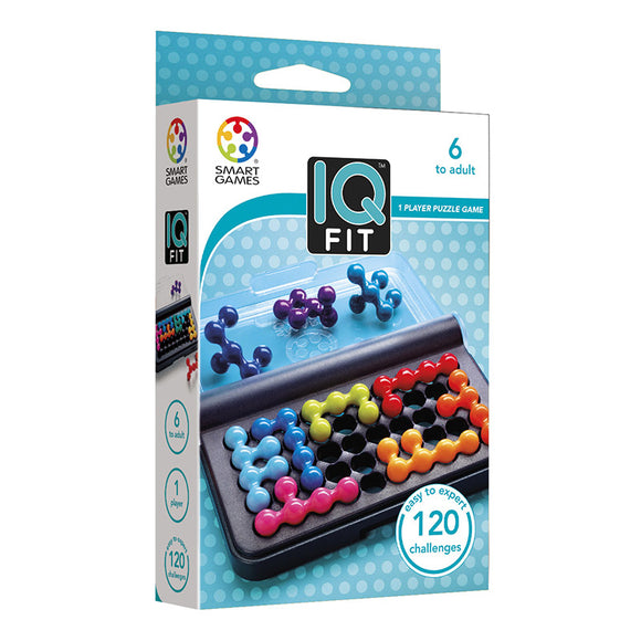 Smart Games - IQ-Fit Smart Games Educational Games and Puzzles- BibiBuzz