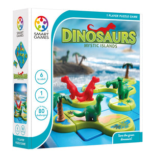 Smart Games - Dinosaur Mystic Islands Smart Games Educational Games and Puzzles- BibiBuzz