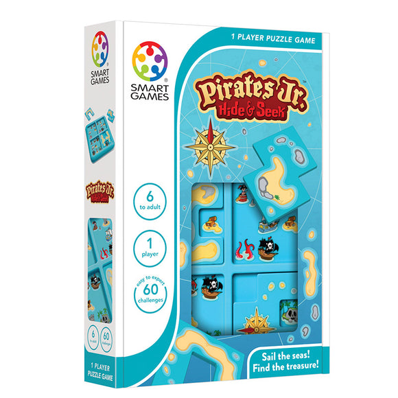 Smart Games - Pirates Jr Hide & Seek Smart Games Educational Games and Puzzles- BibiBuzz