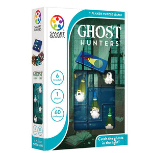 Smart Games - Ghost Hunters Smart Games Educational Games and Puzzles- BibiBuzz