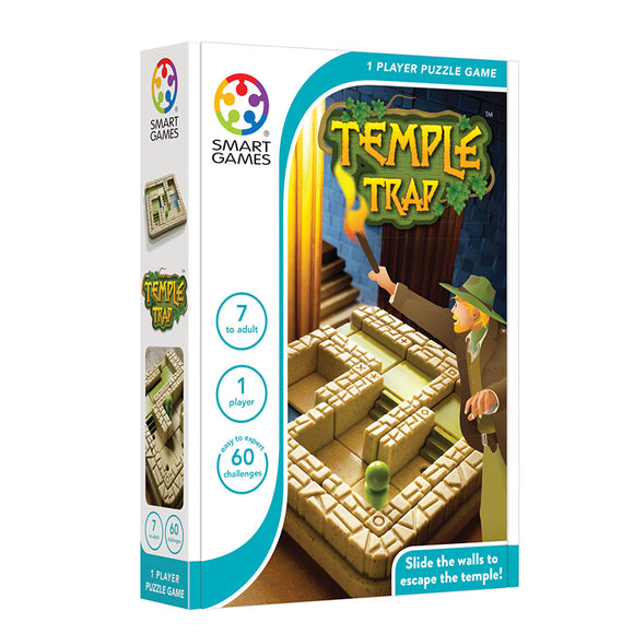 Smart Games - Temple Trap Smart Games Educational Games and Puzzles- BibiBuzz