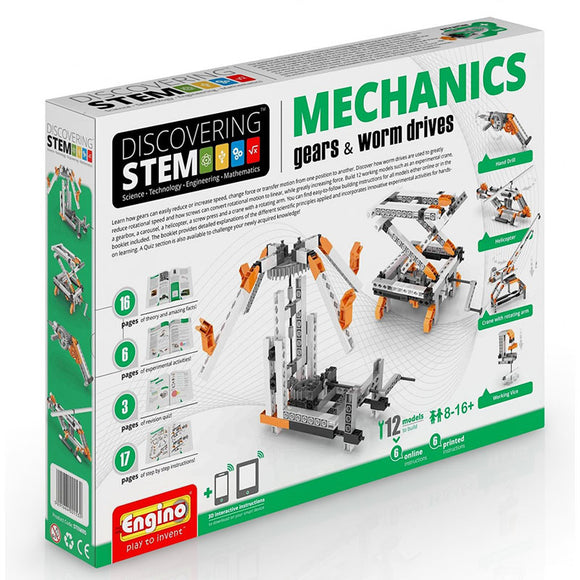 Engino Discovering Stem Mechanics Gears