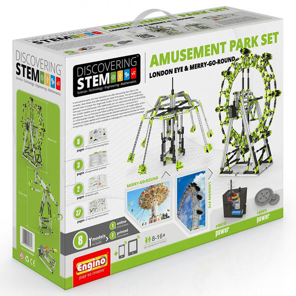 Engino Discovering Stem Amusement Park Set