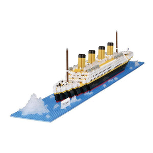 Nanoblocks Titanic 1800pc Nanoblock Construction- BibiBuzz