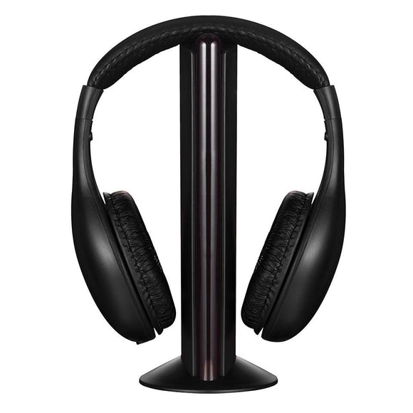 Volkano Freewave Series FM Wireless Headphones with Microphone & Transmitter Volkano Accessories- BibiBuzz