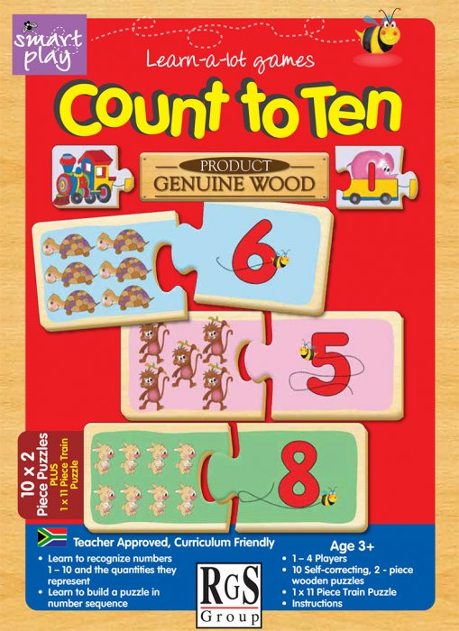 Count to Ten RGS Smartplay Educational Games and Puzzles- BibiBuzz