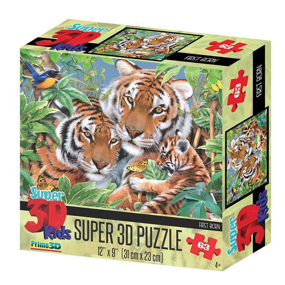 Super 3D Puzzle First Born 63pc RGS Smartplay Puzzles- BibiBuzz