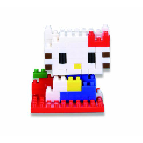 Nanoblocks Hello Kitty 110pc Nanoblock Construction- BibiBuzz