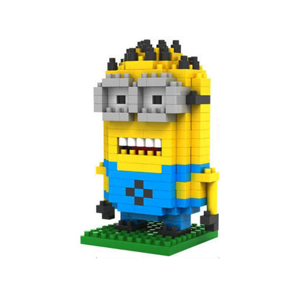 LoZ Diamond Blocks Minion Dave 260pc LoZ Construction- BibiBuzz