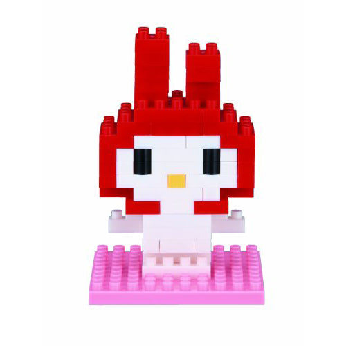 Nanoblocks My Melody 90pc Nanoblock Construction- BibiBuzz