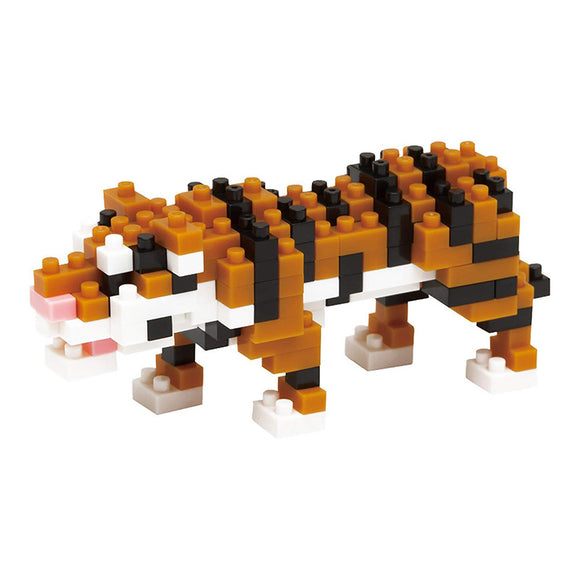 Nanoblocks Bengal Tiger 150pc Nanoblock Construction- BibiBuzz