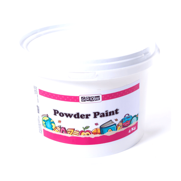 Powder Paint in Tub 4kg GROW Creative Crafts- BibiBuzz