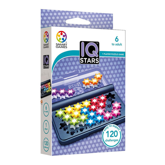 Smart Games - IQ-Stars Smart Games Educational Games and Puzzles- BibiBuzz