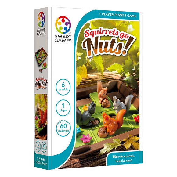 Smart Games - Squirrels Go Nuts Smart Games Educational Games and Puzzles- BibiBuzz