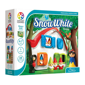 Smart Games - Snow White Deluxe Smart Games Educational Games and Puzzles- BibiBuzz