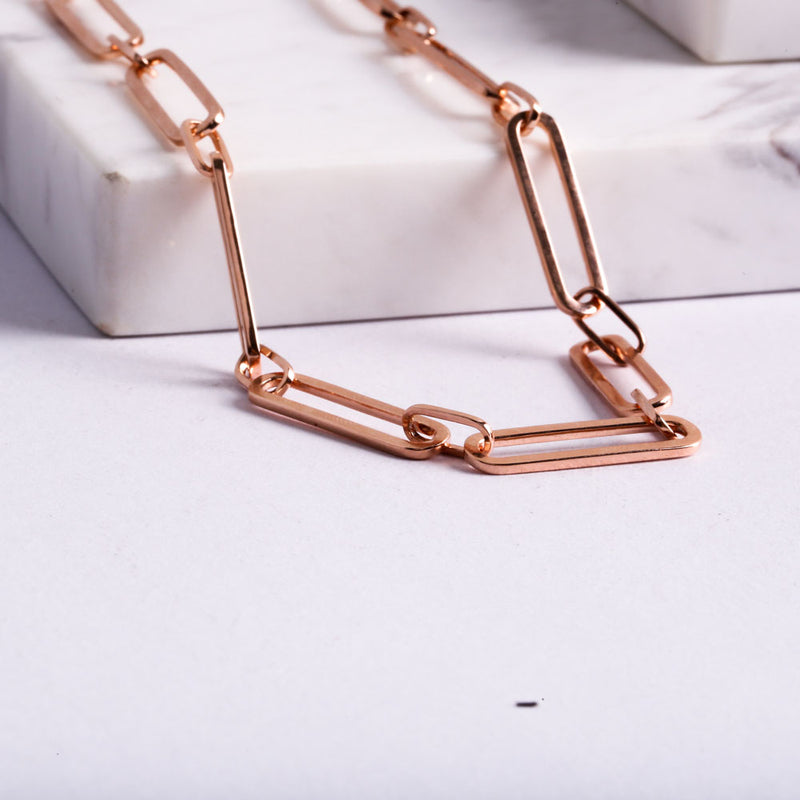 Chain Rose Gold Necklace