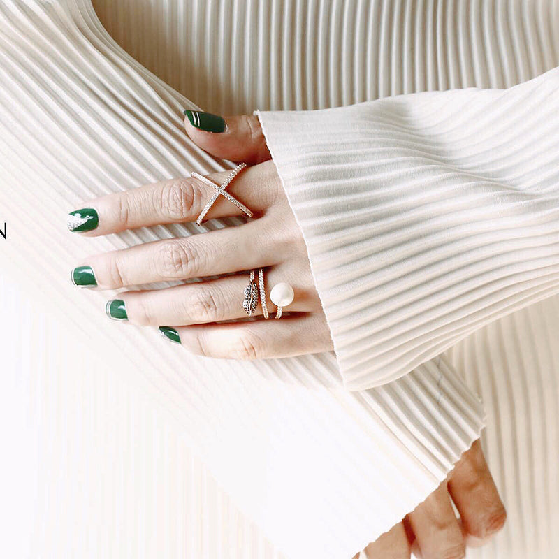 Pearl Layer Ring