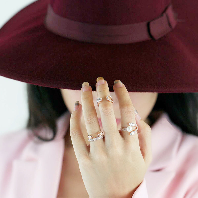 Pearl Lotus Ring