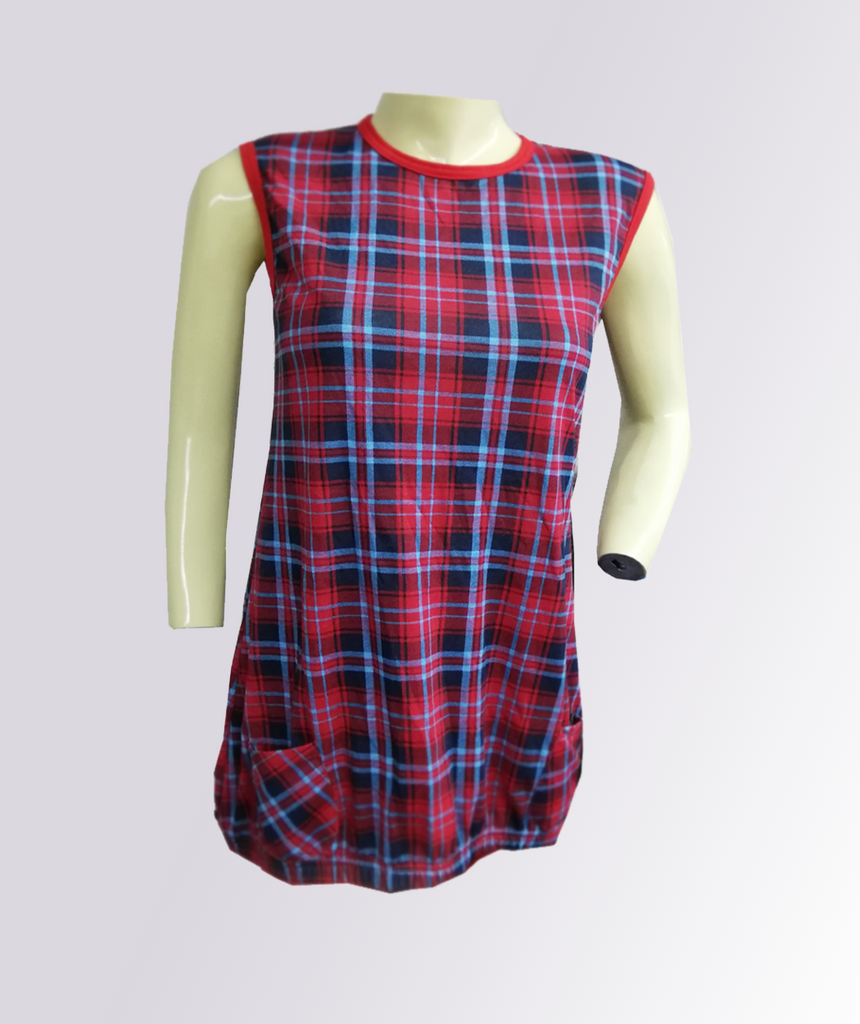 53880f7f2cc0 Baby/Girl Red Check Frock – Sanco Club