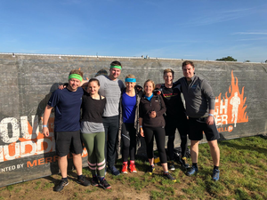 Tough Mudder: mud, team work and bamboo kit