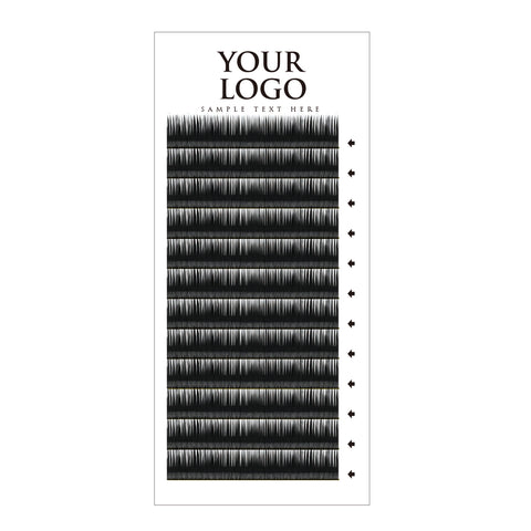 Mink Lash Vertical Tray-12rows - AG PRIVATE LABEL