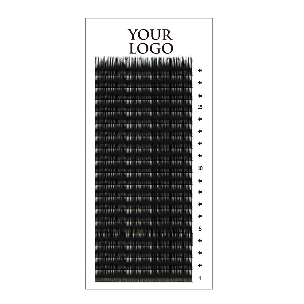 Matte Lash Vertical Tray-18row - AG PRIVATE LABEL
