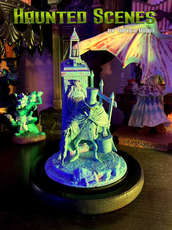 Haunted Scenes for your Haunted Mansion Disney Ornaments designed and created by Topher Adam