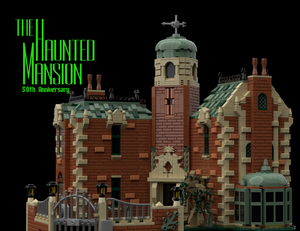 The Haunted Mansion: 50h Anniversary Lego set