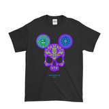 Skull Mouse T-Shirt by imafoolishmortal