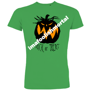 Trick or Treat Halloween pumpkin T-Shirt