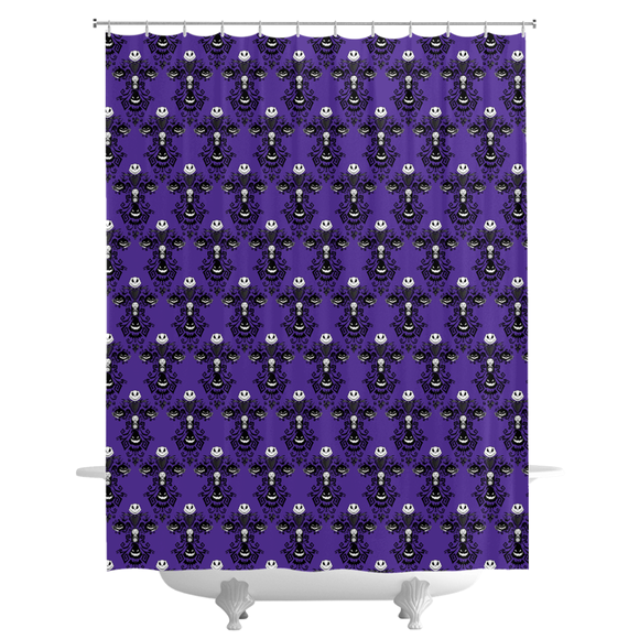 NBC Wallpaper Shower Curtains