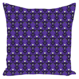 NBC Wallpaper Throw Pillows