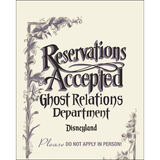 Reservations Accepted Hearse Poster illustration by Tppher Adam Giclee Art Prints