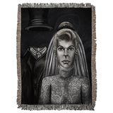 Bride and Groom by Topher Adam 2018 Woven Blankets