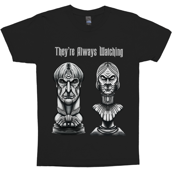 They‰۪re Always Watching illustration by Topher Adam 2018 T-Shirt