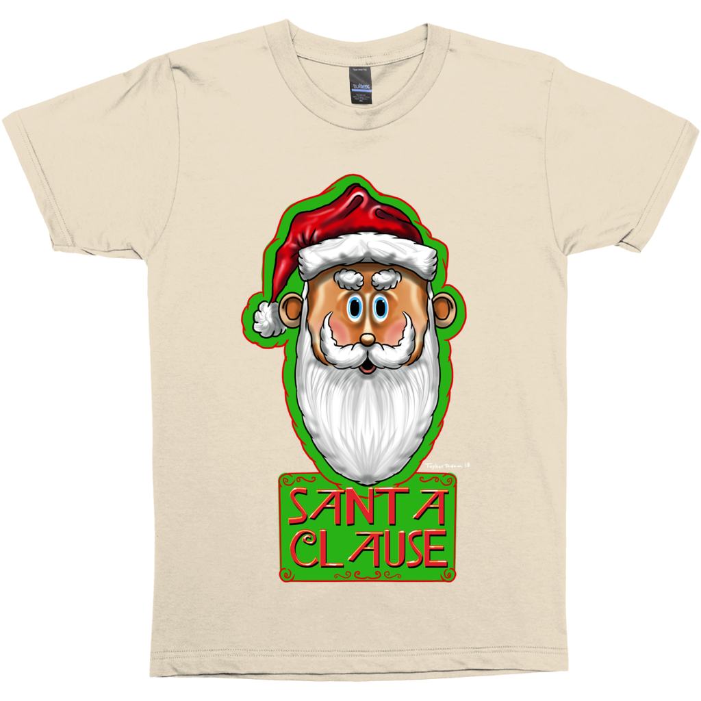 Santa Clause by Topher Adam 2018 T-Shirt